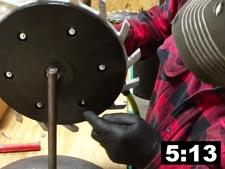 Assemble Mohawk Closing Wheel